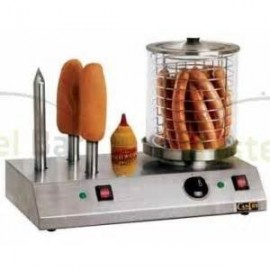 MAQUINA DE PERRITOS CALIENTES  HOT DOG 4 PINCHOS
